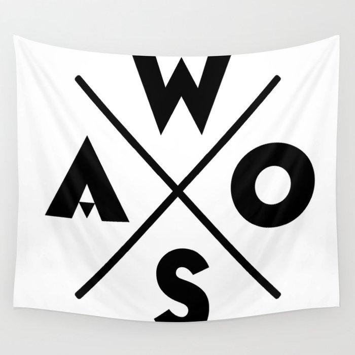 WOSA - World of Street Art Wall Tapestry