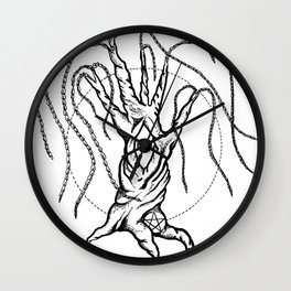 The Waking Willow Wall Clock