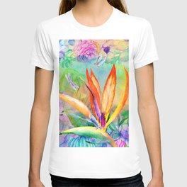 Bird of paradise i T-shirt