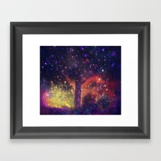 nature space-51 Framed Art Print