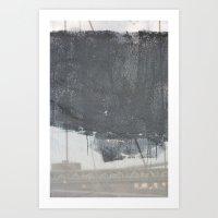 Brooklyn Bridge Abstraction II Art Print