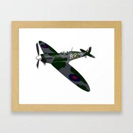 Spitfire Framed Art Print