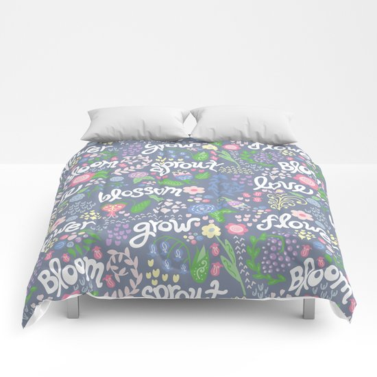 How Does Your Garden Grow Comforters