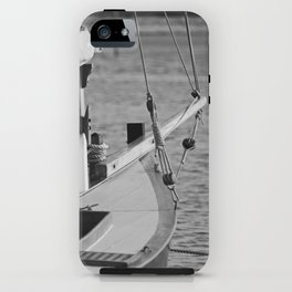 Small sailboat. iPhone Case