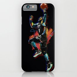 Kyrie BKLYN 3D Basketball Player Dunk iPhone Case