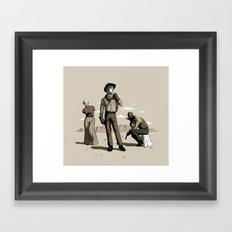 Stone-Cold Western Framed Art Print