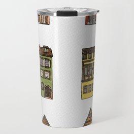 Riquewihr Houses Travel Mug