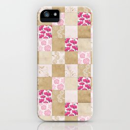 Spring Time - Patchwork iPhone Case