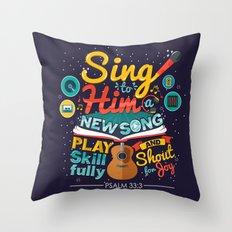 Psalm 33 Throw Pillow
