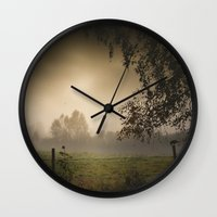 heroes Wall Clocks featuring Even heroes cry sometimes by HappyMelvin