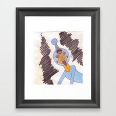 Space Prince Framed Art Print