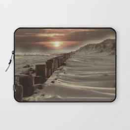 Fort Tilden Beach NYC sunset Laptop Sleeve