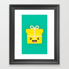 Party Present Framed Art Print