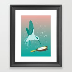 Can You See The Music Framed Art Print