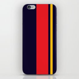 Navy Racer iPhone Skin