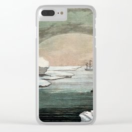 Paolo Fumagalli - The effect of the Sun Shining at Midnight (1830) Clear iPhone Case