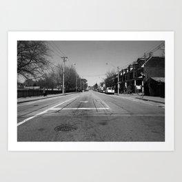 Off Queen - Jones Avenue - North Art Print