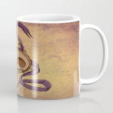 Skull and ribbon  Mug