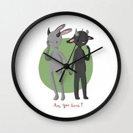 Misunderstood Monsters Wall Clock