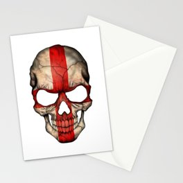Exclusive England skull design Stationery Cards