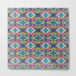 Phillip Gallant Media Design - Pattern XXXII June 21 2020 By Phillip Gallant Metal Print