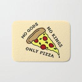 No Gods, No Kings, Only Pizza Bath Mat