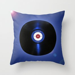 it's a mod life vinyl Throw Pillow