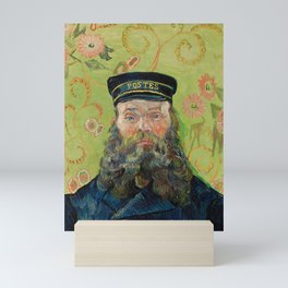 The Postman by Vincent van Gogh Mini Art Print