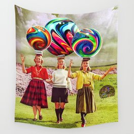 Balancing Act Wall Tapestry
