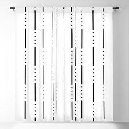 Morse Code #159 Blackout Curtain