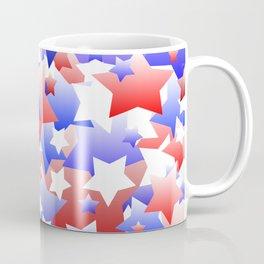 Patriotic Stars Coffee Mug