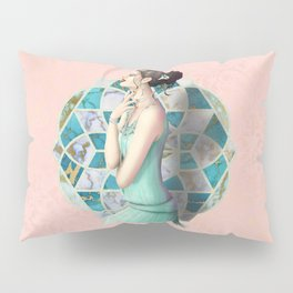 By the Stained Glass Pillow Sham