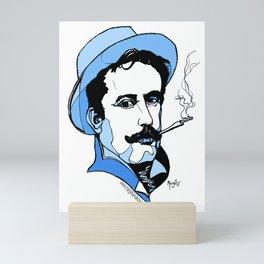 Giacomo Puccini Italian Composer Mini Art Print