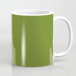 Cheap Solid Fern Green Color Coffee Mug