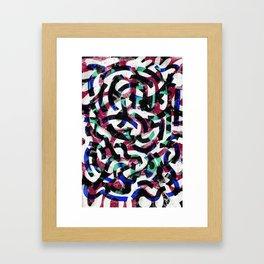 Pattern № 35 Framed Art Print