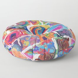 480 - Abstract collection Floor Pillow