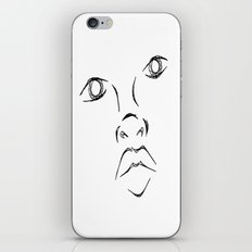 The face iPhone & iPod Skin