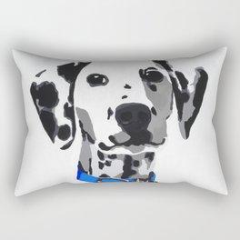 Winnie in blue Rectangular Pillow