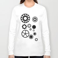 gears of war Long Sleeve T-shirts featuring Gears by Prince Of Darkness