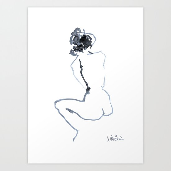 Nude drawing by ulrikemohme