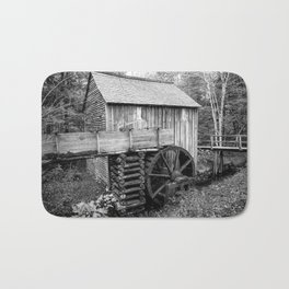 Cable Mill - Old Mill in Great Smoky Mountains Bath Mat