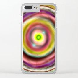 Vortex Clear iPhone Case