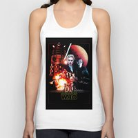 starwars Tank Tops featuring StarWars / DoctorWho by thedrunknown