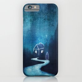 Alone In A Ghost Town iPhone Case