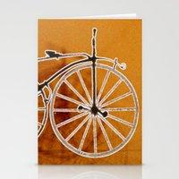 bike Stationery Cards featuring Bike by CrismanArt