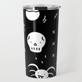 SPOOKY HALLOWEEN! - PATTERN Travel Mug