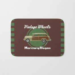 Vintage Wheels: Mercury Wagon Bath Mat