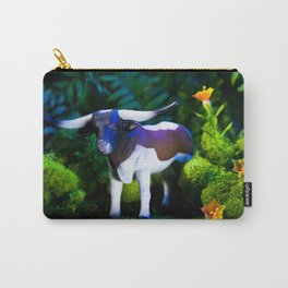 A Steer Cattle Cow at Night Carry-All Pouch