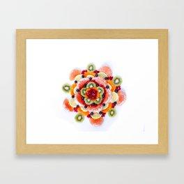 """""""What the Fruit"""" Mandala Framed Art Print"""