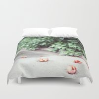 fruits Duvet Covers featuring Fruits by deerproblem